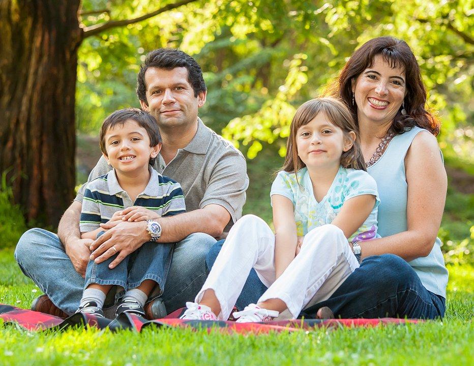 Antonio with Family