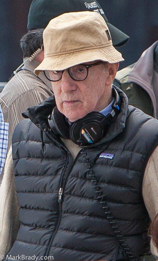 "Woody on the set of ""Jasmine"""